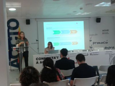 Sessió sobre Incentius fiscals en R+D+i realitzada a ACCIO