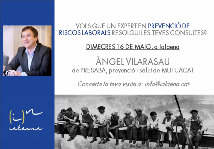 VOLS QUE UN PROFESSIONAL DE LA PREVENCIÓ DE RISCOS LABORALS RESOLGUI ELS TEUS DUBTES?