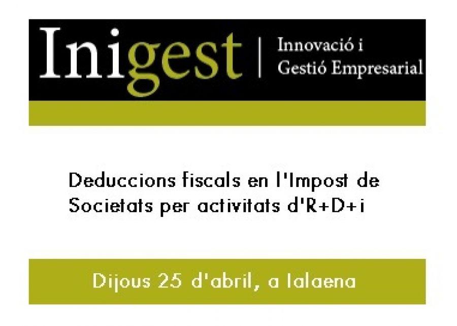 Pots aplicar-te deduccions fiscals en l'Impost de Societats per la realització d'activitats d'R+D+i?