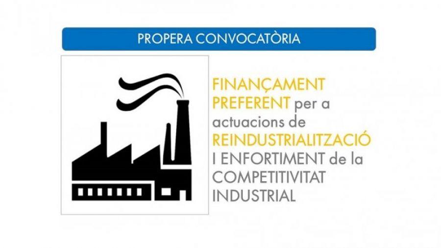 Finançament Preferent per a Reindustrialització i Enfortiment de la Competitivitat Industrial