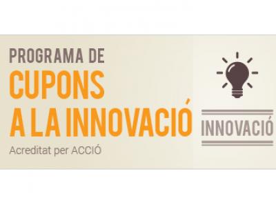 SERVEIS A LA INNOVACIÓ SUBVENCIONATS - Programa Cupons a la Innovació ACCIO 2017
